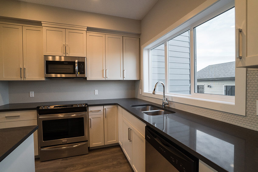 New Calgary Paired Home Quick Possession Soho 3 in Walden, located at 1347 Walden Drive SE Built By Cardel Homes
