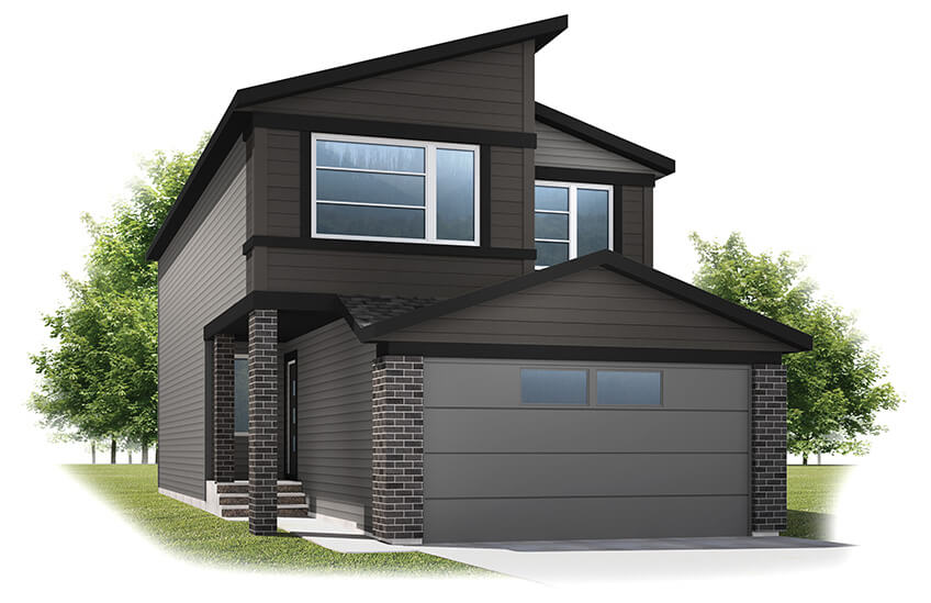 New Calgary Single Family Home Quick Possession Emerge in Walden, located at 115 Walden Heights SE Built By Cardel Homes Calgary