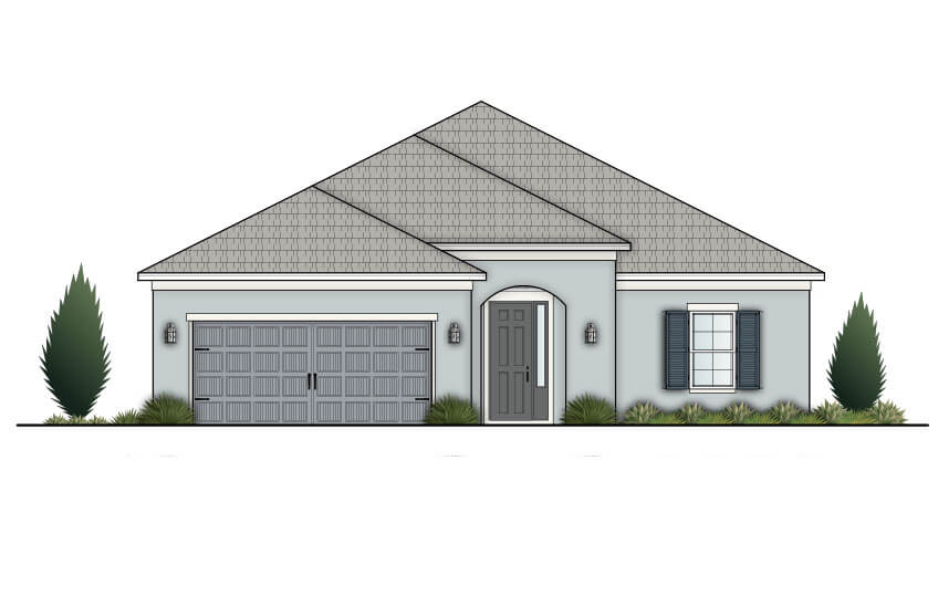 New Tampa Single Family Home Quick Possession Pineberry in Country Walk, located at 4755 POINTE O'WOODS DRIVE<br />