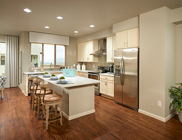 The Milan - 1,200 sq ft - 3 bedrooms - 2.5 Bathrooms -  Visit this home in Solterra  - Cardel Homes Denver