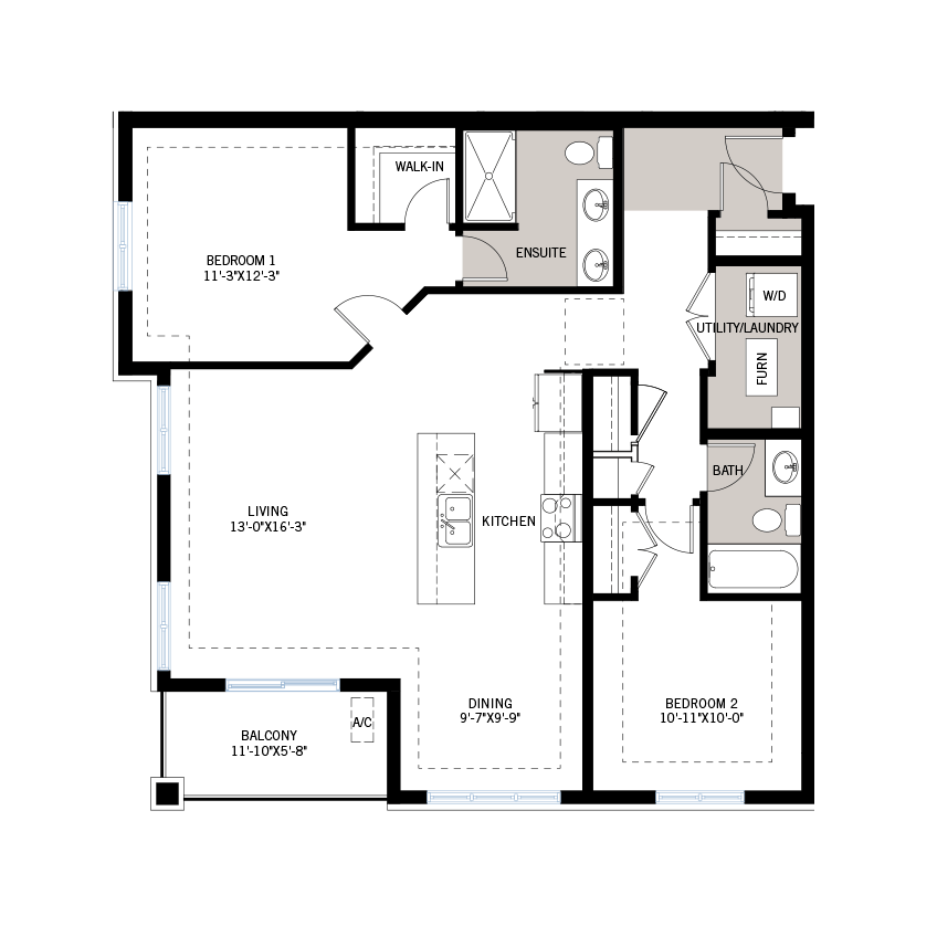 New Ottawa Condos Home Quick Possession Diamond Floorplan in Blackstone in Kanata South, located at 210 Livery Street, Kanata Built By Cardel Homes Ottawa