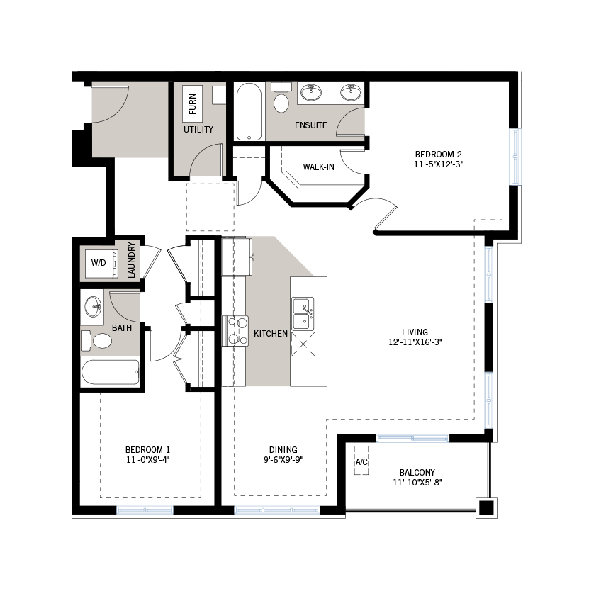 New Ottawa Condos Home Quick Possession Onyx Floorplan in Blackstone in Kanata South, located at Suite 201 - 210 Livery Street, Kanata Built By Cardel Homes Ottawa