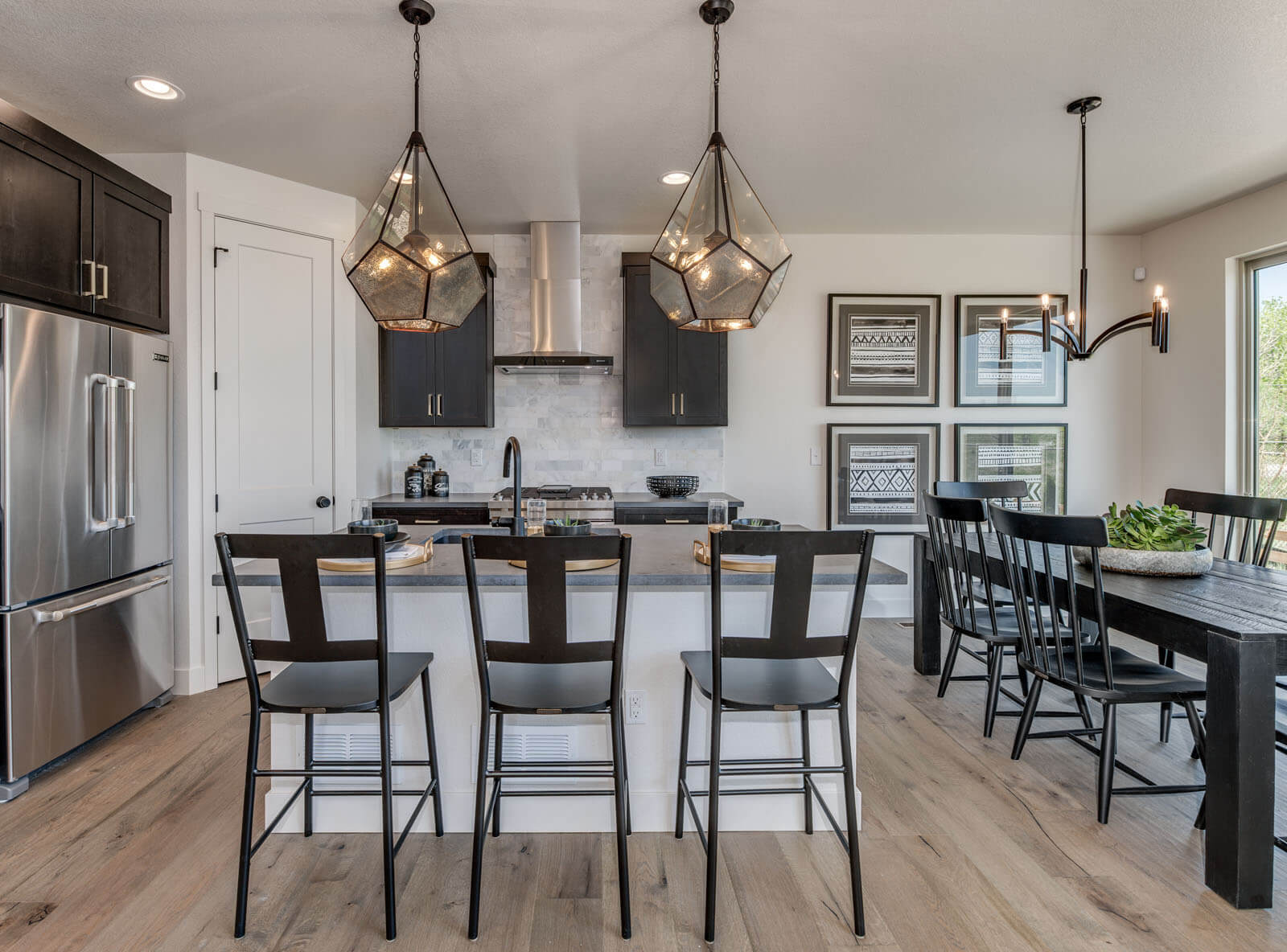 New Denver  Model Home Tiago in Westminster Station, located at 6920 Canosa St, Denver Built By Cardel Homes Denver