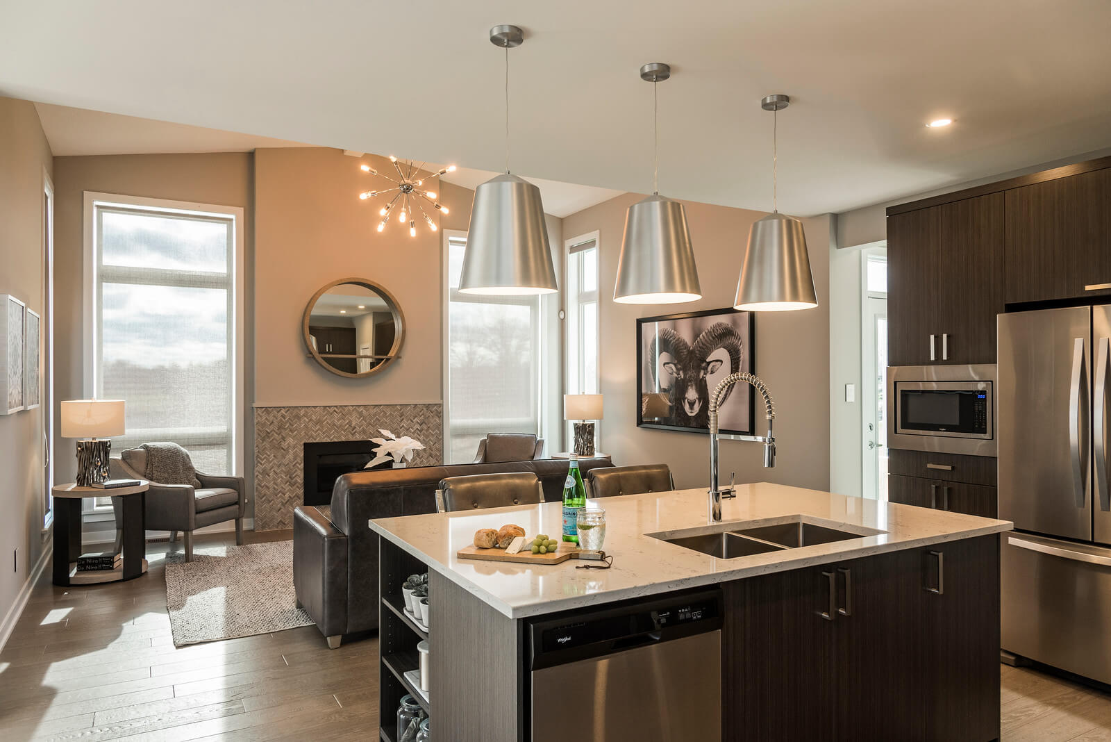 New Ottawa  Model Home Cornell in Millers Crossing in Carleton Place, located at 4 Flegg Way Built By Cardel Homes Ottawa