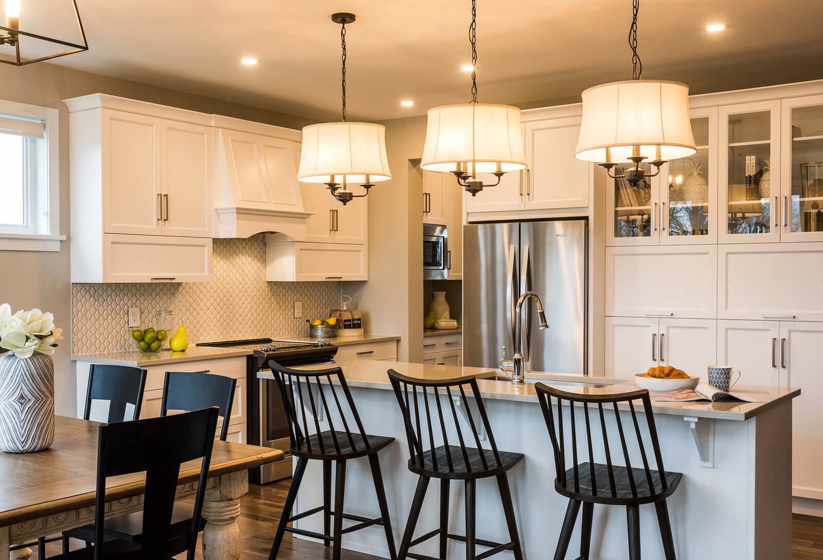 New Calgary  Model Home Oxford in empty, located at 2 Flegg Way Built By Cardel Homes Calgary