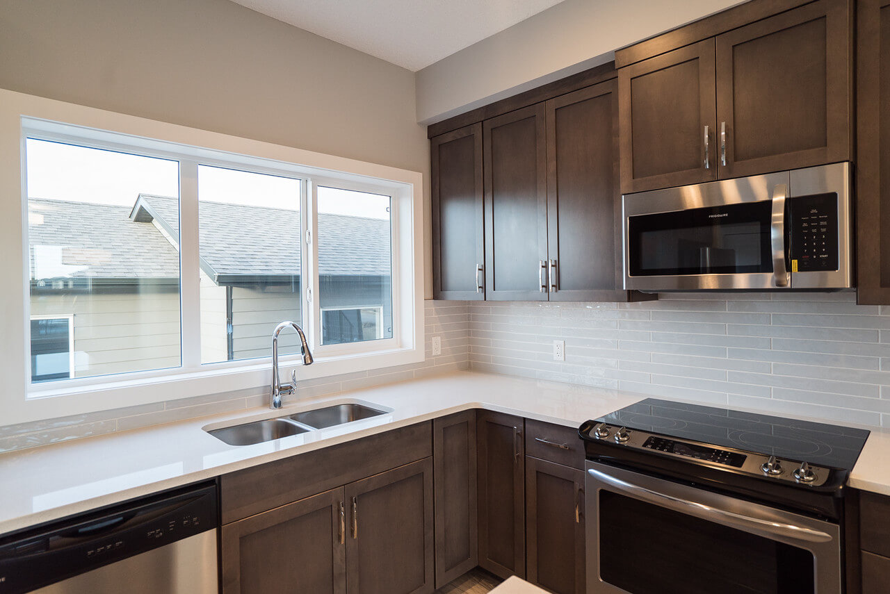 New Calgary Paired Home Quick Possession Soho 2 in Walden, located at 1341 Walden Drive SE Built By Cardel Homes