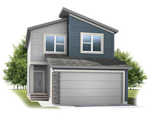 New home in INVIS 1 in Walden, 1,656 SQFT, 3 Bedroom, 2.5 Bath, Starting at 450,000 - Cardel Homes Calgary