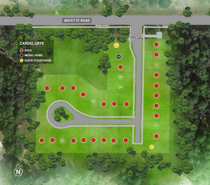 Sandhill-community-map-cardel-homes