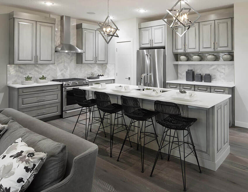The Savin - 2,623 sq ft - 3 bedrooms - 2.5 Bathrooms -  View Shawnee Park Floorplans  - Cardel Homes Calgary