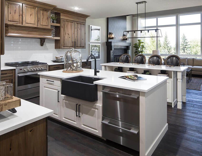 The Selkirk 2 - 2,806 sq ft - 3 bedrooms - 2.5 Bathrooms -  View Shawnee Park Floorplans  - Cardel Homes Calgary
