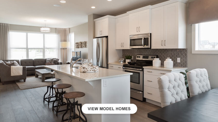 Cardel Homes Calgary Walden Paired Model Home