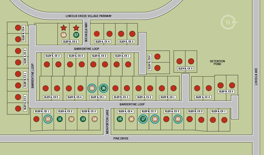 Lincoln-Creek-TheVillas-Lot-Map1