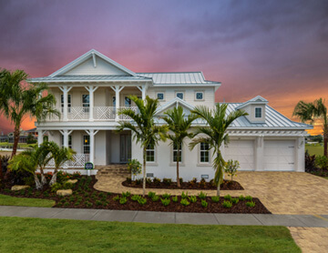 The Wilshire 2 - 3,638 - 4,260 sq ft - 5 bedrooms - 4 Bathrooms -  View Community  - Cardel Homes Tampa