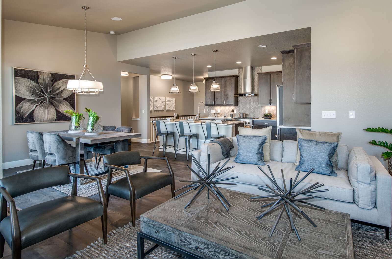 New Denver  Model Home Willow in Lincoln Creek, located at 6845 Zebra Grass Lane, Parker, CO Built By Cardel Homes Denver