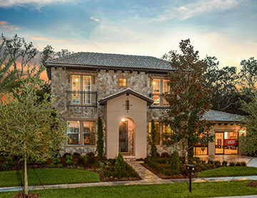 The Waldorf - 3,661 - 3,672 sq ft - 4-5 bedrooms - 3.5-4 Bathrooms -  Visit this home in<br> The Preserve at Fishhawk Ranch  - Cardel Homes Tampa