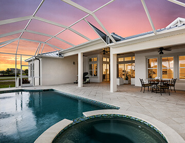The Wilshire 2 - 3,638 - 4,260 sq ft - 5 bedrooms - 4 Bathrooms -  Visit this home in MiraBay  - Cardel Homes Tampa