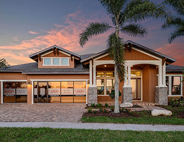 The St Lucia - 3,336 sq ft - 4-5 bedrooms - 3 Bathrooms -  View Community  - Cardel Homes Tampa
