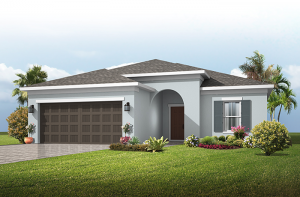 Brighton - Traditional Cottage Elevation - 2,010 sqft, 3 - 4 Bedroom, 2 Bathroom - Cardel Homes Tampa