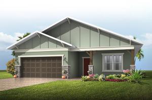 Southampton - Craftsman Cottage Elevation - 2,500 sqft, 4-5 Bedroom, 3 Bathroom - Cardel Homes Tampa