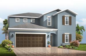 Winford - Traditional Cottage Elevation - 3,132 sqft, 5 Bedroom, 3.5-4.5 Bathroom - Cardel Homes Tampa