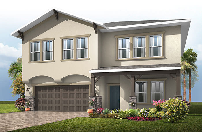 New home in NEWHAVEN in Sandhill Ridge, 2,550 SQFT, 4 Bedroom, 2.5 Bath, Starting at 334,990 - Cardel Homes Tampa