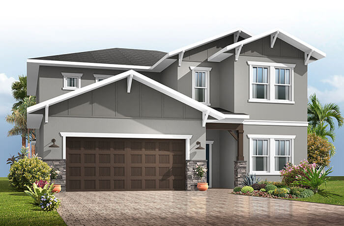 New home in WINFORD in Sandhill Ridge, 3,132 SQFT, 5 Bedroom, 3.5-4.5 Bath, Starting at 374,990 - Cardel Homes Tampa