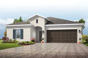 Northwood - Traditional Cottage Elevation - 2,200 sqft, 3-4 Bedroom, 2-3 Bathroom - Cardel Homes Tampa
