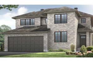 BS_NICHOLS-A2 Elevation - 2,456 sqft, 4 - 5 Bedroom, 2.5 - 3.5 Bathroom - Cardel Homes Ottawa