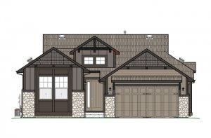 DVR-RR-AUGUSTA-Elevation-B-High-Country-700X460 Elevation - 1,944 sqft, 2 Bedroom, 2.5 Bathroom - Cardel Homes Denver