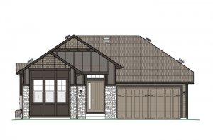 DVR_RR_PEBBLE-BEACH-Elevation-B-High-Country-700X460 Elevation - 2,057 sqft, 2 Bedroom, 2.5 Bathroom - Cardel Homes Denver