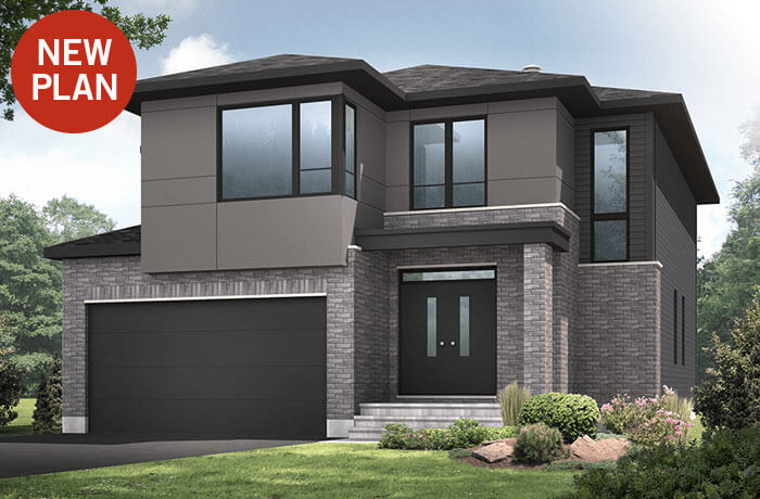 New home in BRISTOL in Blackstone in Kanata South, 2,646 SQFT, 4 Bedroom, 2.5 Bath, Starting at 603,000 - Cardel Homes Ottawa