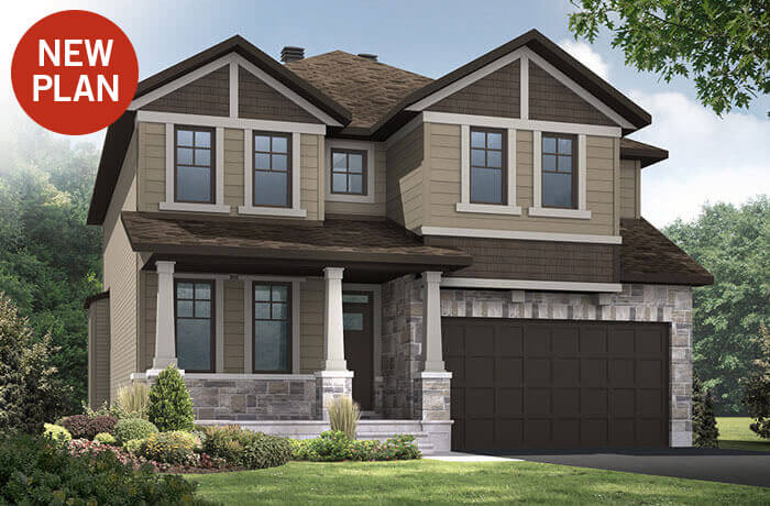 New home in DURHAM in Blackstone in Kanata South, 2,294 SQFT, 4 Bedroom, 2.5 Bath, Starting at 570,000 - Cardel Homes Ottawa