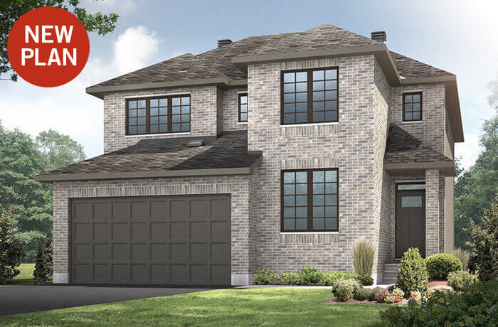 New home in NICHOLS in Blackstone in Kanata South, 2,456 SQFT, 4 Bedroom, 2.5 Bath, Starting at 590,000 - Cardel Homes Ottawa
