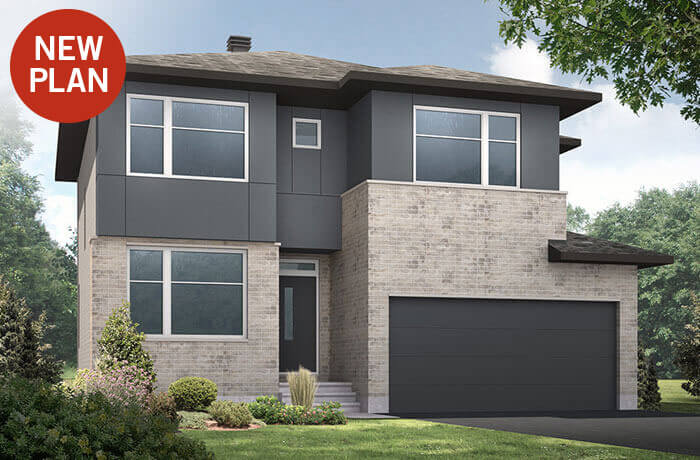 New home in CORNELL in Blackstone in Kanata South, 2,130 SQFT, 3 Bedroom, 2.5 Bath, Starting at 558,000 - Cardel Homes Ottawa