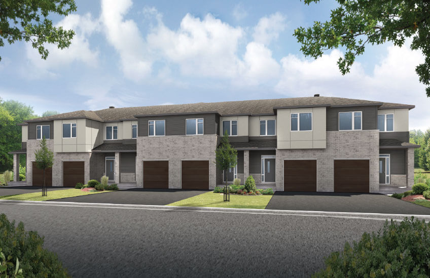 New Ottawa Towns Home Quick Possession Alder in Millers Crossing in Carleton Place, located at 118 Ridell Street<br />