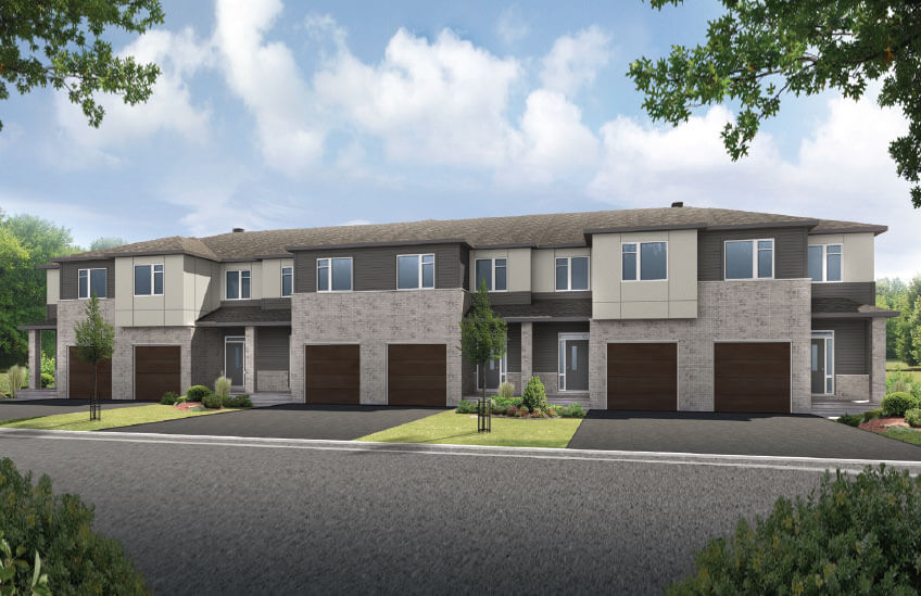 New Ottawa Towns Home Quick Possession Yarrow 1 in Millers Crossing in Carleton Place, located at 114 Ridell Street<br />