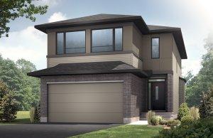 AUDEN - PS - Modern A3 Elevation - 1,964 sqft, 3 - 4 Bedroom, 2.5 Bathroom - Cardel Homes Ottawa