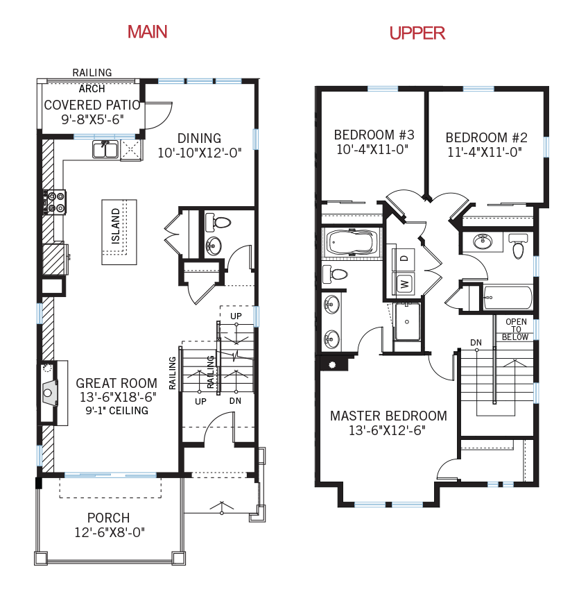 New Denver Towns Home Quick Possession Milan Floorplan in Solterra, located at 15559 W Washburn Ave Built By Cardel Homes Denver