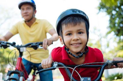 cardel-homes-calgary-cornerbrook-family-biking