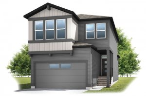 Strand - Elevation F1 Elevation - 1,914 sqft, 3 Bedroom, 2.5 Bathroom - Cardel Homes Calgary