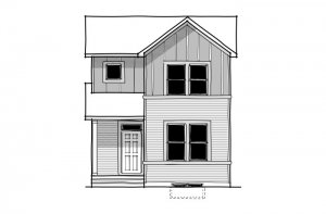 Mensa 2 - CB-Farmhouse C3 Elevation - 1,704 sqft, 3 Bedroom, 2.5 Bathroom - Cardel Homes Calgary