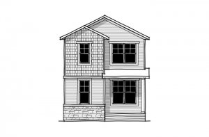 Tarmon - CB-Craftsman C1 Elevation - 1,620 sqft, 3 Bedroom, 2.5 Bathroom - Cardel Homes Calgary