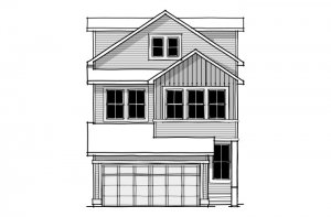 Emerge - CB-Farmhouse C4 Elevation - 1,994 sqft, 3 Bedroom, 2.5 Bathroom - Cardel Homes Calgary