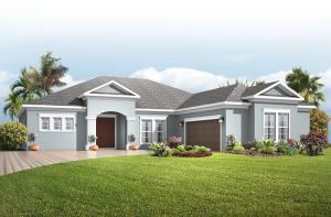 Martin - Traditional Elevation - 2,533 - 2,805 sqft, 3-4 Bedroom, 3 Bathroom - Cardel Homes Tampa