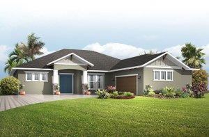 Martin - Craftsman Elevation - 2,533 - 2,805 sqft, 3-4 Bedroom, 3 Bathroom - Cardel Homes Tampa