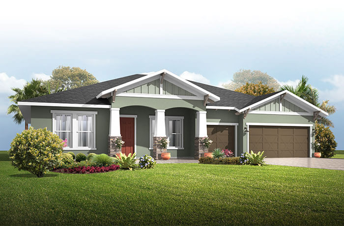New home in WESLEY in Oakwood Reserve, 2,830 - 3,228 SQFT, 4 Bedroom, 3-4 Bath, Starting at 469,990 - Cardel Homes Tampa