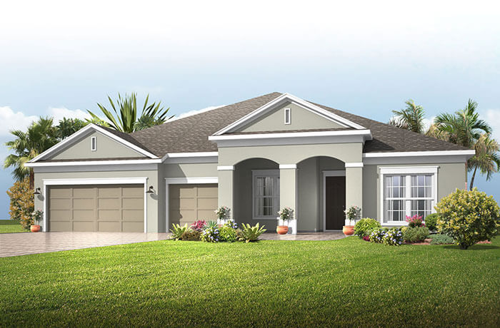New home in HENLEY in Oakwood Reserve, 3,000 - 3,939 SQFT, 4-5 Bedroom, 3-4 Bath, Starting at 484,990 - Cardel Homes Tampa