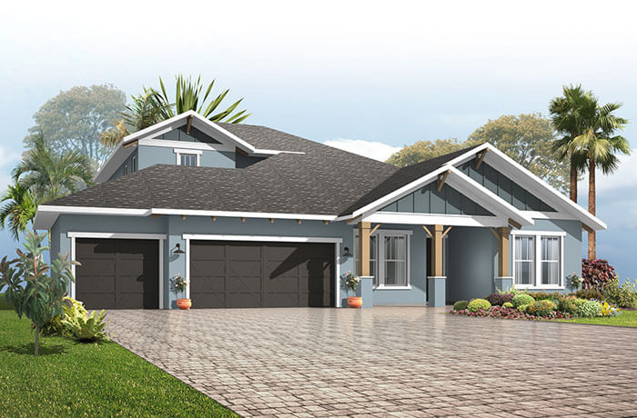 New home in BARRETT in Bexley, 3,120 SQFT, 3-5 Bedroom, 2-4 Bath, Starting at 504,990 - Cardel Homes Tampa