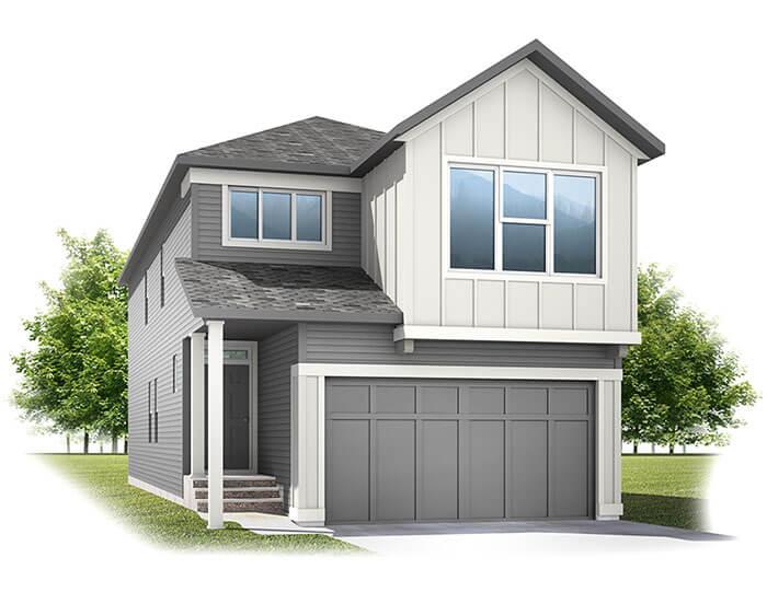 Sabal 3 - CB-Farmhouse C3 Elevation - 2,313 sqft, 4 Bedroom, 2.5 Bathroom - Cardel Homes Calgary