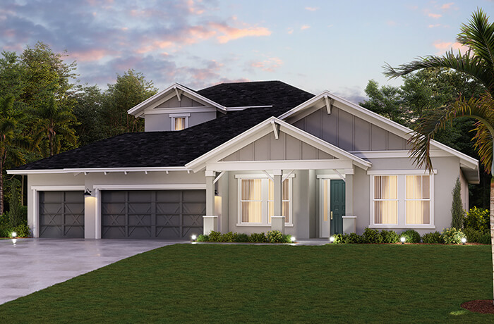 New home in BARRETT in Bexley, 3,120 SQFT, 3-5 Bedroom, 2-4 Bath, Starting at 539,990 - Cardel Homes Tampa